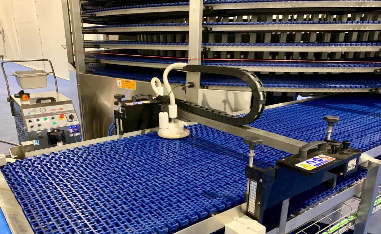 Mesh Conveyor Belt Cleaner